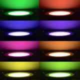 DC24V RGB ЗАКРУГЛЕННОЙ ПАНЕЛИ встраиваемый светодиодный затенения