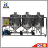 Banheira de venda da Refinaria de Óleo de mostarda portátil processo de refinação de óleo de nozes e refinação de óleo de soja para produção de óleo vegetal
