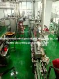 Bouteille de machine de remplissage automatique de la sauce avec toute la ligne de conditionnement