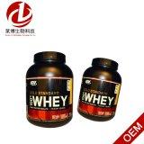 De optimale Voeding, Goudstandaard, de Wei van 100%, verdubbelt Rijke Chocolade, 5 Pond (2, 27 kg)