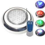 Indicatore luminoso subacqueo della piscina di 12V montato superficie IP68 RGB LED con il regolatore a distanza
