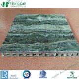Matériau de construction de panneaux en aluminium de pierre Honeycomb pour Panneau mural