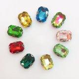 de Bergkristallen van het Kristal van de Montages van de Klauw van D van de Vorm van de Rechthoek van 10X14mm