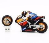Дизайн мотоциклов моды резиновые флэш-накопитель USB