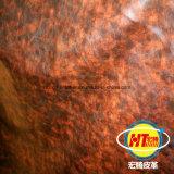El más reciente de PVC resistente cuero sintético para sofá mobiliario Sillas (Hongjiu-1702#)