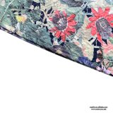 Miss You Ailinna 304297 niñas Moda Vestido Seersucker impresas florales