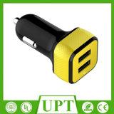 새로운 디자인 세륨, RoHS FCC를 가진 이중 USB 고속 차 충전기