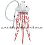 Cachimbo de água de vidro de vidro de fumo de Shisha da tubulação de fumo da tubulação de água dos acessórios do ofício dos produtos de vidro do cachimbo de água do frasco do frame