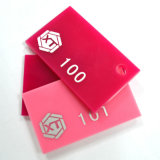 Vente en gros feuille transparente et claire de 3mm d'usine de la Chine de moulage d'acrylique