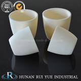 Barco de cerámica de alta temperatura de los crisoles del alúmina del crisol para el horno de tubo