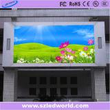 Panneau-réclame fixe polychrome extérieur de P5 SMD 1r1g1b HD DEL pour la publicité