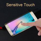Protecteur sensible en verre d'écran en verre Tempered de contact d'Asahi d'accessoires mobiles pour le bord de Samsung S6