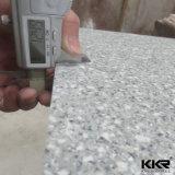 surface solide acrylique de marbre de 12mm Aritifial pour la partie supérieure du comptoir de cuisine
