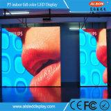 고품질 단계 풀 컬러 HD P5 실내 LED 영상 벽