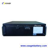 Nachladbare Lithium-Eisen-Phosphatbatterie (LiFePO4) 19inch 48V100ah