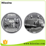 O metal de China Crafts moedas de Halloween das moedas do costume de Hiicoins da fábrica