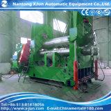 Quente! Máquina de rolamento simétrica hidráulica da placa de três rolos Mclw11nc-80X2500