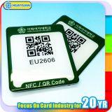 Modifica del chip NTAG213/215/216 NFC del codice a barre di promozione