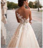 2018 La Bola de Prom vestido de noche vestidos de novia novia Wj001