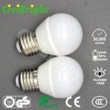 G45 E27 4W LED enciende el bulbo global de SMD 2835