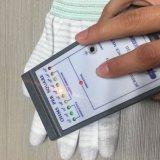 Gants enduits S M L de fibre de carbone de bout du doigt d'unité centrale
