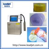 Máquina de impresión de inyección de tinta continuo automático para botellas