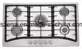 Bruciatore cinque con il supporto della vaschetta del ghisa sviluppato nella cucina della casa della stufa (JZS85201)