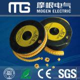 Marcadores de cabos de PVC de 85 c de resistência ao calor