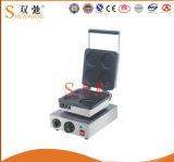 Machine électrique de secteur de roue de trou de la machine 4 de casse-croûte d'acier inoxydable