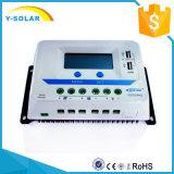 30AMP 12V/24Vの太陽料金か充満調整装置二重USB/2.4A Vs3024au