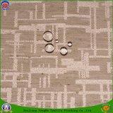 Tissu imperméable à l'eau de Cutain de guichet d'arrêt total d'enduit de franc de tissu de polyester tissé par textile à la maison