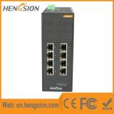 Interruptor industrial manejado de la red de Ethernet de Tx del acceso de 8 gigabites