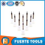 Elevada precisão de venda quente 2 ferramentas de trituração do metal das flautas