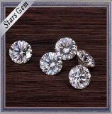 도매가에 캐럿 Moissanite 1.5 돌의 둘레에 최고 질 E/F 백색 색깔