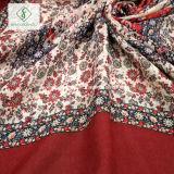 Un style chinois Long de la crème solaire Serviette de plage Châle coton Floral rétro