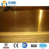 Barra de cobre C18200 Cucr1 del cobre del cromo de la placa del cátodo