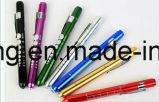 生徒のゲージ、看護婦のための医学のペンのトーチ、医者のためのLED医学のPenlightが付いている卸し売りLEDのペンライト