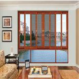 Populärer Aluminium-schiebendes Glasfenster-Preis-Entwurf für Landhaus-Haus