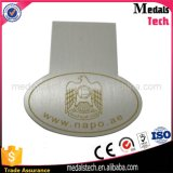 Miroir promotionnel en acier inoxydable Polished Custom Laser Grape Money Clips