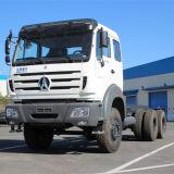 Beiben 380HP 6X4 10 roues chariot remorque du tracteur pour la vente