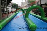 300meters Slip N Toboggan gonflable Slide The City