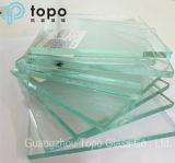 glace de flotteur claire de construction de 1.9mm-25mm (W-TP)