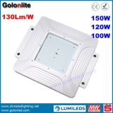 China Factory Price 5 ans de garantie Installation facile Montage en surface 100W Station d'essence Lumières LED
