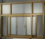 Doppeltes Glasaluminium schiebendes Windows mit bestem Preis