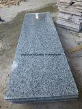 建築材料の中国のフロアーリングまたは舗装のタイルのための白い波の花こう岩の平板