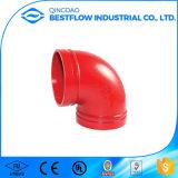 Gute Qualitätsfeuerschutzanlage-rotes angestrichenes Rohrfitting