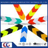 PVC矢のトラックの反射安全警告のConspicuityテープ(C3500-AW)