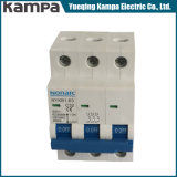 mini corta-circuito de 4.5ka 3p 32AMP con el indicador