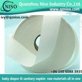 Papel absorvente da polpa de papel absorvente do fluff de Airlaid do papel da seiva para o guardanapo sanitário