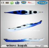 Simple Gagnant Asseyez-vous dans les loisirs PE Non gonflable Ocean Kayak